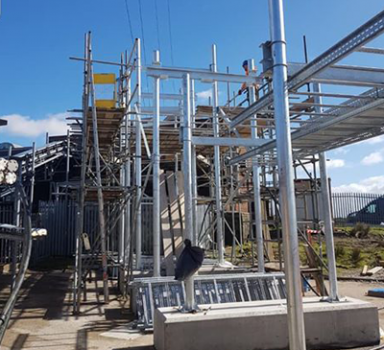 5G Mast Installation
