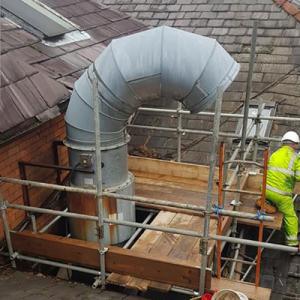 Industrial scaffolding UK